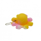 Jucarie senzoriala antistres Pop it Now and Flip it, Push Bubble, Caracatita Reversibila, multicolora V3