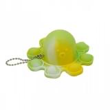 Jucarie senzoriala antistres Pop it Now and Flip it, Push Bubble, Caracatita Reversibila, multicolora V5