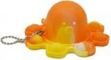 Jucarie senzoriala antistres Pop it Now and Flip it, Push Bubble, Caracatita Reversibila, multicolora V7