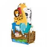 Puzzle 3D pentru copii, Arca lui Noe, 12 piese