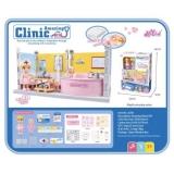 Set de joc cabinet medical cu instrumente