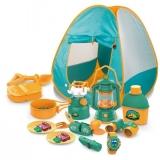 Set camping pentru copii cu 7 accesorii si cort