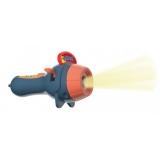 Jucarie educativa Proiector tip lanterna, culoare albastru