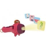 Jucarie educativa Proiector tip lanterna, culoare rosu