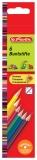 Creioane colorate triunghiulare mari Herlitz