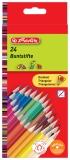 Creioane color triunghiular 1/1 set 24 buc/set Herlitz