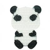 Jucarie senzoriala antistres Pop it Now and Flip it, 27 x 21 cm, model Ursulet Panda