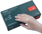 Manusi examinare vinil, fara pudra, L, 100 buc/set Vinylex