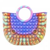 Geanta Mare Pop it Now, 28 cm, model 3 multicolora