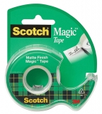 Banda adeziva cu dispenser Scotch Magic 3M 19 mm x 7.5 m
