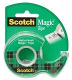 Banda adeziva cu dispenser Scotch Magic 3M 19 mm x 7.5 m