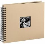 Album foto Fine Art 36 x 32 cm, 50 pagini, bej Hama