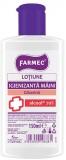 Lotiune igienizanta maini, 70% alcool, glicerina, 150 ml Farmec