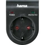 Adaptor cu protectie negru Hama