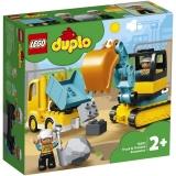 Camion si excavator pe senile 10931 LEGO DUPLO
