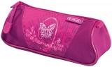 Necessaire triunghiular Flexi Rose Butterfly Herlitz