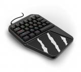 Tastatura gaming uRage 3rgo 1H, RGB, One-Hand, negru Hama