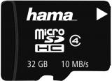Card de memorie MicroSDHC 32 gb Clasa 4 10 MB/s Hama
