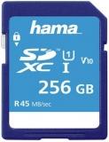 Card de memorie SDXC, 256GB, Clasa 10 UHS-I 45 MB/s Hama