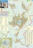 Harta Municipiului Alba Iulia AB 70 x 100 cm sipci de plastic