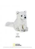 Jucarie Plus Venturelli - National Geographic Vulpe Arctica 24 Cm - AV770728