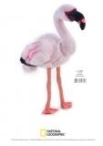 Jucarie Plus Venturelli - National Geographic Flamingo 45 Cm - AV770760