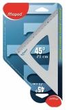 Echer aluminiu 45° 21 cm Maped