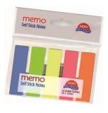 Index din plastic 5 culori 25 file/culoare Noki