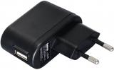 Incarcator universal voiaj USB 5V/1A negru Hama