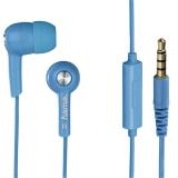 Casti stereo HK2114, cu microfon,  albastru Hama