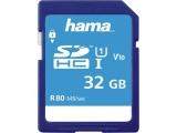 Card de memorie SDHC, 32 GB Clasa 10 UHS-I 80 MB/s Hama