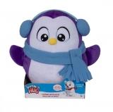 Jucarie de plus interactiva Snuggle N Hug Pinguin