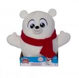 Jucarie de plus interactiva Snuggle N Hug Urs polar