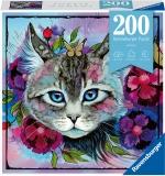 Puzzle Ochi De Pisica, 200 Piese Ravensburger