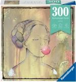 Puzzle Doamna Cu Balon Din Guma, 300 Piese Ravensburger