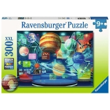 Puzzle Holograma Planetelor, 300 Piese Ravensburger