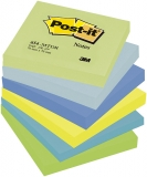 Notite adezive neon Dreamy Post-It® 6 buc/set 76 mm x 76 mm 100 file/buc 3M