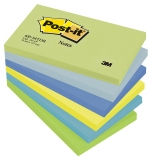Notite adezive neon Dreamy Post-It® 6 buc/set 127 mm x76 mm 100 file/buc 3M
