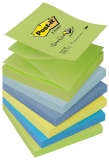 Notite adezive culori calde Post-It Z-Notes 76 x 76 mm 3M
