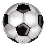 Farfurii 24 cm Minge de Fotbal 10 buc/Set Big Party