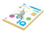 Carton IQ color mixt A4 pastel 160 g/mp, 100 coli/top
