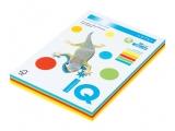 Hartie copiator IQ color mixt A4 intens 80 g/mp, 250 coli/top