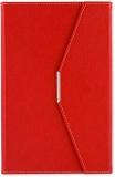 Agenda A5 cu magnet, culoare rosu, 250 file, Ultra