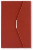 Agenda A5 cu magnet, culoare burgundy, 250 file, Ultra