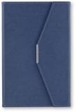 Agenda A5 cu magnet, culoare navy, 250 file, Ultra