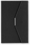 Agenda A5 cu magnet, culoare negru, 250 file, Ultra