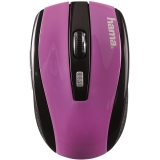 Mouse wireless AM-7801 negru/mov Hama