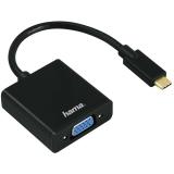 Adaptor USB-C - VGA negru Hama
