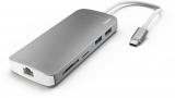 Statie Docking 7 in 1 USB-C, 2 x USB 3.1, HDMI, LAN, SD, MicroSD, USB-C Hama