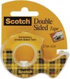 Banda dublu adeziva cu dispenser 12.7 mm x 6.3 Scotch 3M